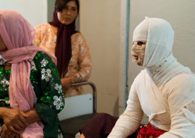 Shamim, 17, was forced to marry a man of 60 years. She doused herself with cooking oil and lit a match to end her misery.
