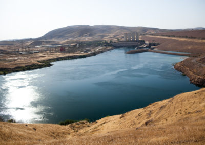 Completed in 1986, the Mosul dam plays a very important role in Iraq and could see water flow cut by 50% if the Ilisu dam is built.