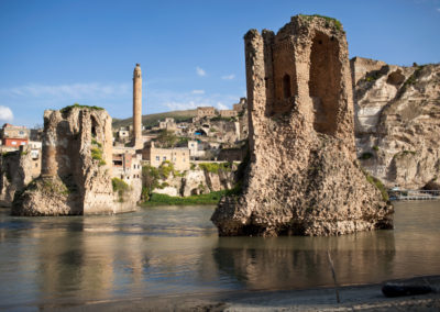 Hasankeyf, an ancient city on the river Tigris first settled by man possibly as early as 12,000 years ago, would be submerged by the Ilisu dam.