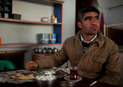 Erkhan and his family will be relocated by the state if the Ilisu dam is built.