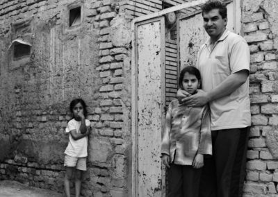 Iraqi immigrants living in Yazd.