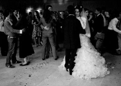 The couple dances at a Kurdish wedding in Diyarbakir.
